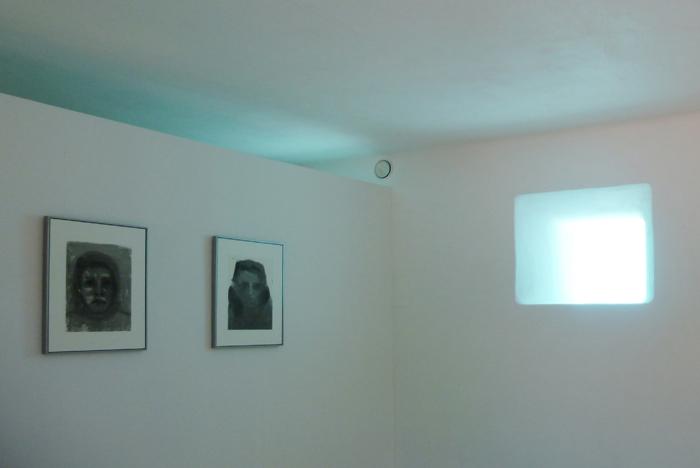Claire Tabouret : sous les eaux - acrylique sur toiles - ©clairetabouret
