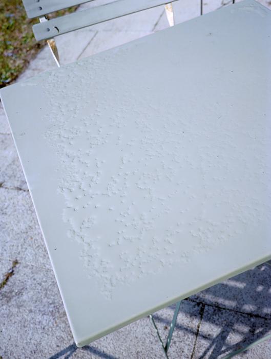 Vincent Bonnet : Table liquide - ©vincentbonnet