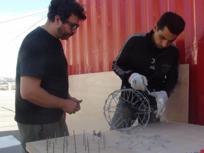 Yazid Oulab, atelier AEM Richebois