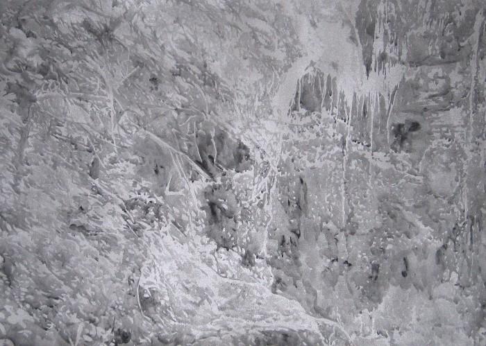 Anne Laure Sacriste, cascade Sainte Victoire