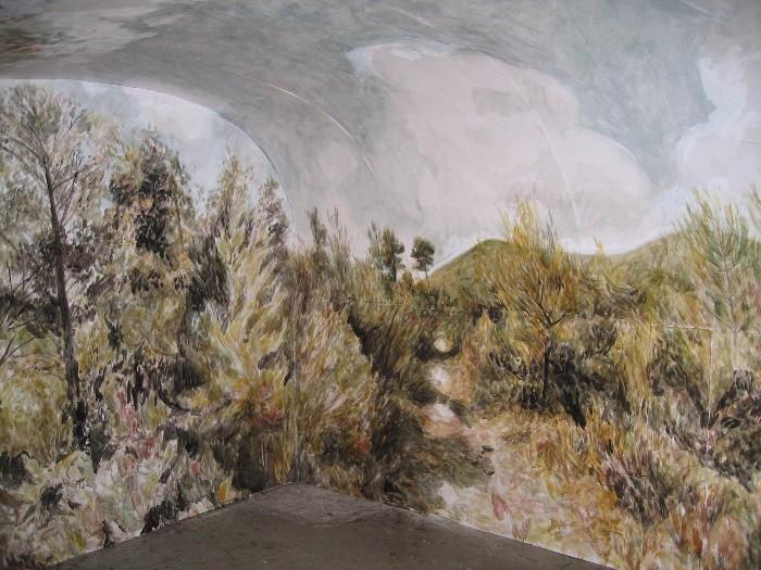 Florence Louise Petetin, fresque - refuge de St Jean du Puy