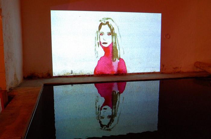 Echo, film vidéo dessiné - ©Jean Christophe Lett